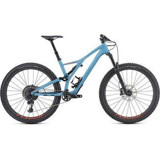 Specialized SPECIALIZED STUMPJUMPER FSR EXPERT CARBON STRMGRY/RKTRED LARGE