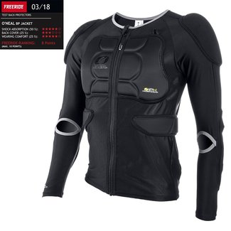 O`NEAL BP PROTECTOR JACKET BLACK L