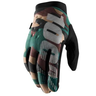 100% 100% BRISKER COLD WEATHER GLOVE  Medium camo