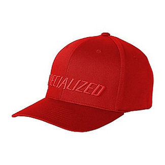 Specialized SPECIALIZED Podium Hat - Traditional Fit Flex Fit red S/M