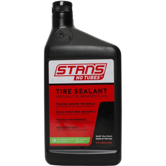 STAN'S NOTUBES TIRE SEALANT 946ml, 1 quart converts up to 16 tires