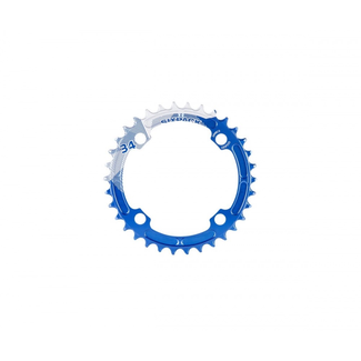 SIXPACK-RACING SIXPACK Kettenblatt K-RING narrow-wide 34z blau