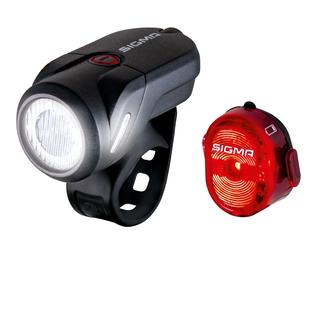SIGMA SPORT LED AUBA 35 USB / NUGGET II USB Set