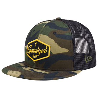 Specialized New Era 9Fifty Snapback Electro Hat Camo/Black/Burnt Yellow