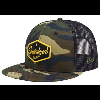 Specialized New Era 9Fifty Snapback Electro Hat Camo/Black/Burnt Yellow