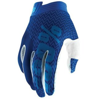 100% 100% ITRACK GLOVE Large blue