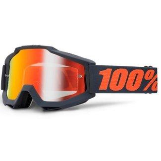 100% 100% Accuri Enduro goggle mirror red gunmetal