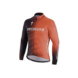 Specialized ELEMENT SL TEAM EXPERT JERSEY LS RKTRED/BLK FAZE XXL