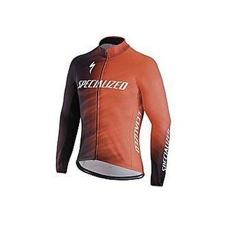Specialized ELEMENT SL TEAM EXPERT JERSEY LS RKTRED/BLK FAZE L