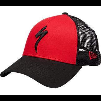Specialized SPECIALIZED TRUCKER SNAPBACK HAT S LOGO RED/BLK OSFA