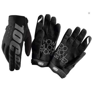 100% 100% BRISKER COLD WEATHER GLOVE XLarge black