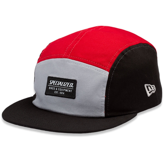 Specialized NEW ERA 5 PANEL HAT SPECIALIZED BLK/RED OSFA
