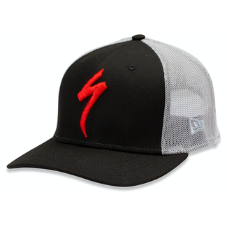 Specialized NEW ERA TRUCKER HAT S-LOGO BLK/GRY OSFA
