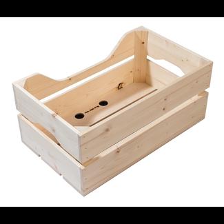 Racktime Woodpacker<br /> natur, 49x24,1x29,5cm, 25ltr