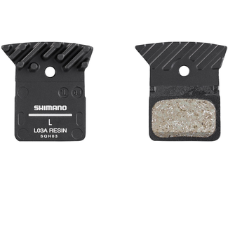 Shimano disc pads Resin L03A with Fin BR-9170,8070, RS805, RS505