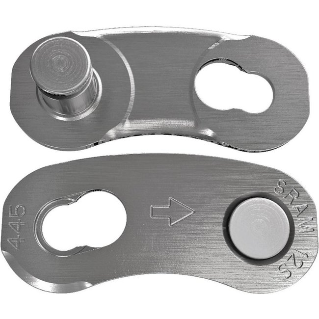 12x SRAM Kettenverschloss Power Lock, 12-fach Ketten silber