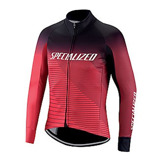 Specialized ELEMENT RBX COMP LOGO TEAM JACKET BLK/TRURED XL