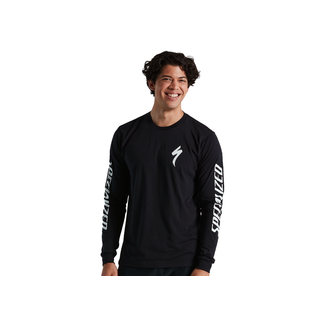 Specialized SPECIALIZED TEE LS MEN BLK M