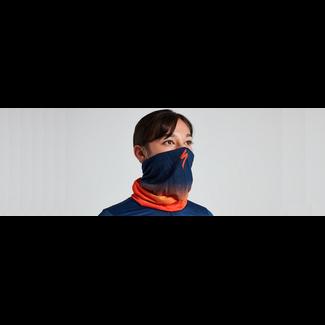 Specialized TUBULAR HEADWEAR PRINTED ORGSNST/DKBLU OSFA