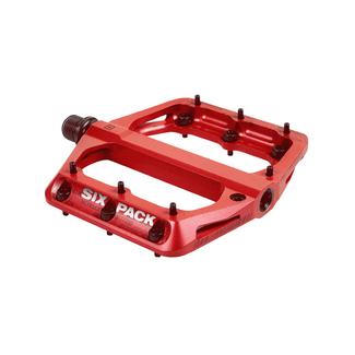 SIXPACK-RACING SIXPACK MILLENIUM AL pedals red