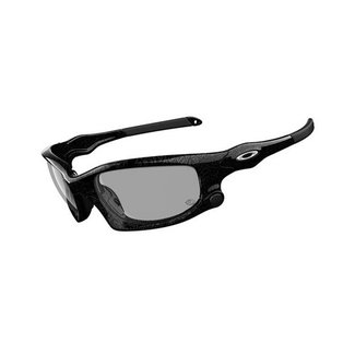 OAKLEY SPLITT JACKET black silver Ghost Text / Clear Grey black Transitions