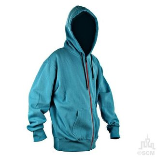 Mr. Clean Zipp Fleece Hoody indigo medium