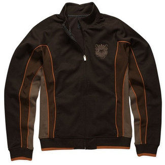 Fox Angled Track Jacket brown medium