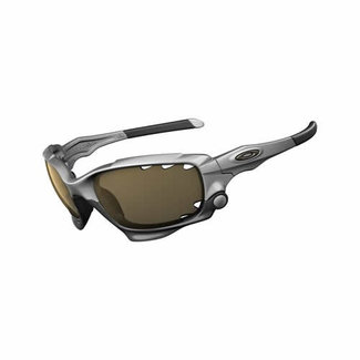 OAKLEY JAWBONE silver black / persimmon iridium photocromic