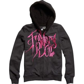 FOX GIRLS Silencer Sherpa Zip Hoody Medium