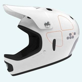 POC CORTEX FLOW M/L shiny white 55-57cm