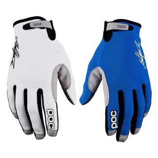 POC INDEX AIR Adj Söderström edition Glove Large blue/hydrogen white