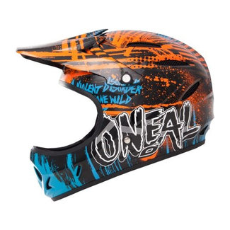 ONEAL O'NEAL Backflip Fidlock DH Helmet Mayhem Crypt orange/blue XL (59-60)