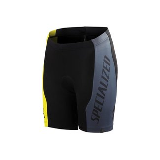 Specialized SPECIALIZED KID PRO RACING SHORT BLK/YEL/CARB S 7/8 Jahre