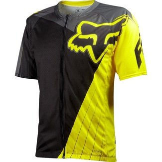 FOX Livewire Descent Jersey 13 yellow XLarge