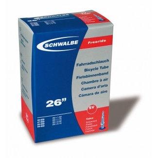 "SCHWALBE SCHLAUCH SV 14/36MM, 26"" 40/60-559 EXTRALIGHT Presta Ventil 40mm 136 gr."
