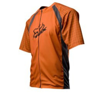 FOX LIve Wire Jersey burnt orange large