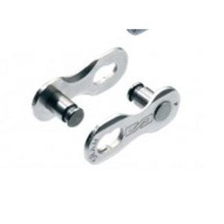 8x SRAM Kettenverschluss Power Link, für 8-fach Ketten, silber