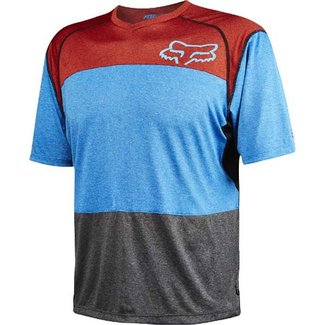 FOX INDICATOR JERSEY HTR BLUE Large
