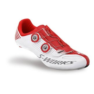 Specialized S-WORKS ROAD SCHUH WHT/RED 45/11.5