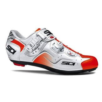 SIDI KAOS WHITE/ORANGE FLUO GR.  44