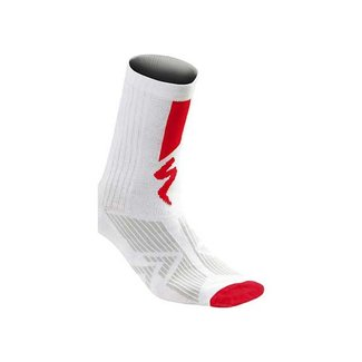 Specialized SPECIALIZED SL ELITE SUMMER SOCK WHT/RED L