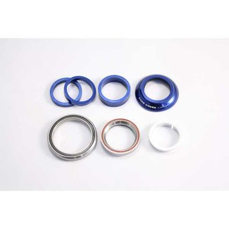 "Specialized SPECIALIZED HDS SJ FSR: PRO CARB EPIC: MAR CARB SJ HT: MAR CARB 1-1 / 8 """" / 1.5 """", BLUE, CAMP STYLE, CART BEARING"