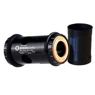 Praxis Works 68mm Reduzier Innenlager BB/PF30 -> Shimano Road 24mm