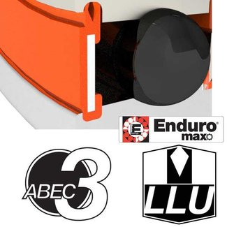 "Enduro Bearings ENDURO BEARINGS R6 LLU ABEC 3 MAX Lager, 3/8 x 7/8 x 9/32"" R6LLUMAX"