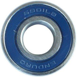 Enduro Bearings ENDURO BEARINGS 6001 LLB ABEC 3 Lager, 12 x 28 x 8 6001LLB