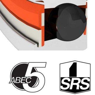 ENDURO BEARINGS 608 SRS ABEC 5 Lager, 8 x 22 x 7 608SRS