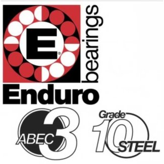 Enduro Bearings ENDURO BEARINGS 6708 2RS-6W ABEC 3 Lager, 40 x 50 x 6 67082RS-6W
