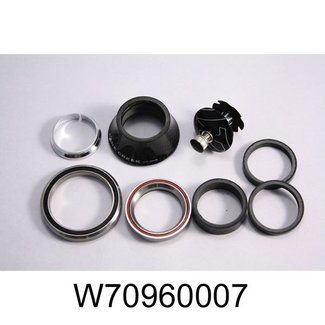 "Specialized SPECIALIZED STEERING SET 1-1 / 8 ""1.5"" CAMP STYLE STAINLESS RACE / BALLS TARMAC, EPIC, ERA, SJ FSR, SAFIRE, SJ HT"