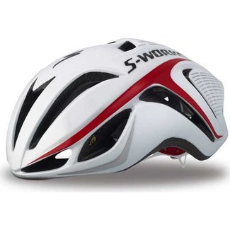 Specialized S-WORKS EVADE HLMT CE WHT/RED L