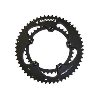 Specialized S-WORKS TEAM CHAINRING SET BLK ANO 110X52/36T